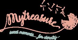 logotipo mytreasure fotografo criança porto